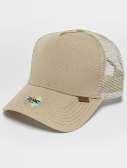 Djinns M-Rib Stop High Fitted Trucker Cap Desert