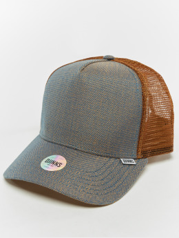 Djinns Trucker Caps Hft 2tone Oxford bezowy