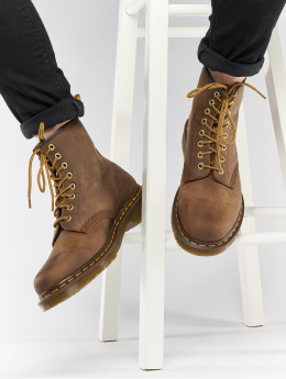 Dr. Martens Boots 1460 8-Eye Crazy Horse Aztec marrone