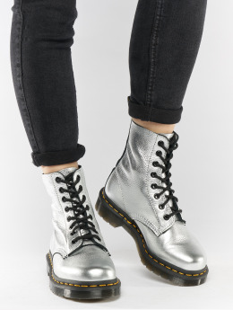 Dr. Martens Boots Pascal MET Santos silver colored