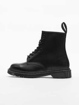 Dr. Martens / Boots 1460 8-Eye Mono Smooth Leather in zwart