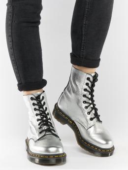 Dr. Martens | Pascal MET Santos argent Femme Chaussures montantes