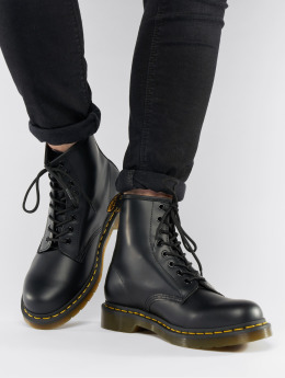 Dr. Martens | 1460 DMC 8-Eye Smooth noir Homme,Femme Chaussures montantes