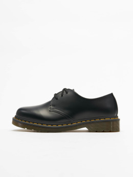 Dr. Martens Lave Sko 1461 DMC 3-Eye Smooth Leather svart