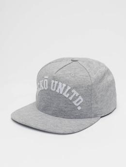 Ecko Unltd. Snapback Caps Melange College šedá