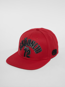 Ecko Unltd. Snapback Caps North Redondo czerwony