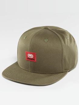 Ecko Unltd. Snapback Caps Peter Patch oliwkowy