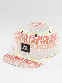 Ecko Unltd. TroudÀrgent Snapback Cap White/Orange