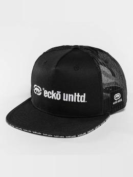 Ecko Unltd. trucker cap Clifton zwart