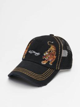 Ed Hardy Trucker Cap  schwarz