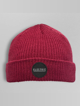Electric Beanie RUBBER STAMP red
