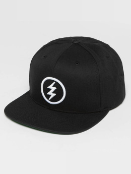 Electric Snapback Cap Volt black