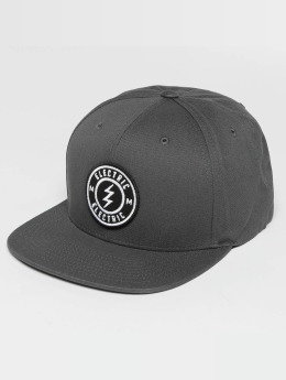 Electric Snapback Cap Voltage gray