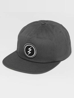 Electric Snapback Cap Volt Patch grey