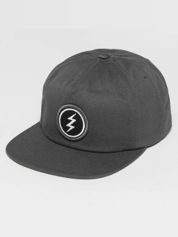 Electric snapback cap Volt Patch grijs
