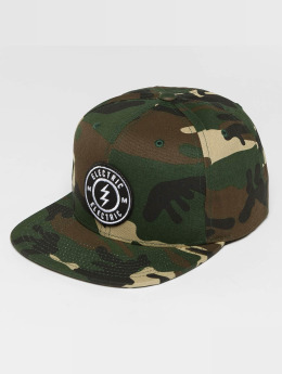 Electric Snapback Caps Voltage camouflage