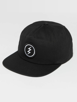 Electric Snapback Caps Volt musta