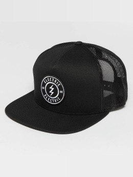 Electric Trucker Cap Voltage black