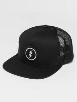 Electric trucker cap Volt Patch zwart