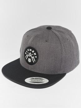 Element Snapback Cap Trekker grigio