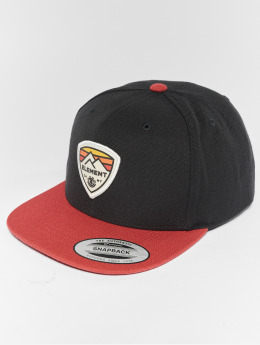 Element Snapback Cap Trekker nero