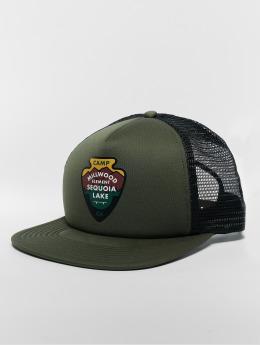 Element snapback cap Camp olijfgroen
