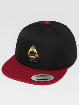 Element Snapback Cap Trekker schwarz