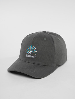 Element Snapback Caps Camp III šedá