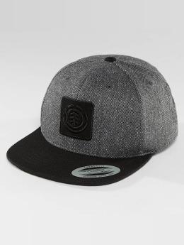Element Snapback Caps United harmaa