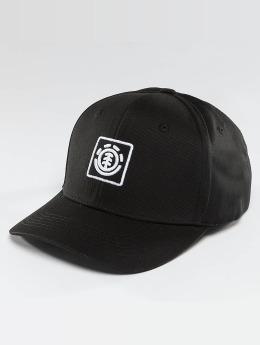 Element Snapback Caps Classic Treelogo musta