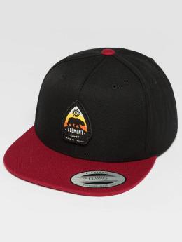 Element Snapback Caps Trekker svart