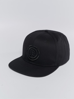 Element Snapback Caps Classic Knutsen svart