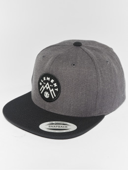 Element Snapback Caps Trekker szary