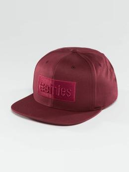 Etnies Snapback Caps Corp Box punainen