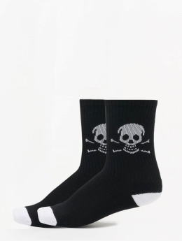 Famous Stars and Straps Chaussettes Skull noir