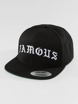 Famous Stars and Straps Snapback Caps Old svart