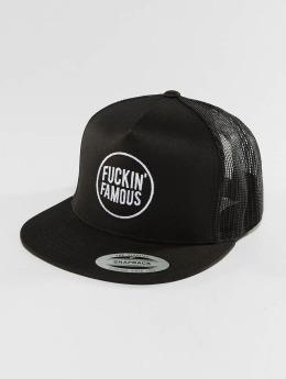 Famous Stars and Straps trucker cap Fuckin` Famous zwart