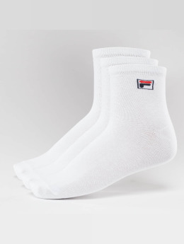 FILA Calcetines 3-Pack Street Socks blanco