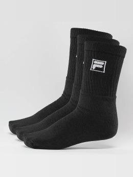 FILA Calcetines 3-Pack negro