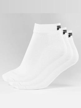 FILA Chaussettes 3-Pack blanc