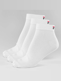 FILA Chaussettes 3-Pack Training blanc