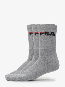 FILA Chaussettes 3-Pack gris