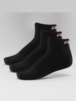 FILA Chaussettes 3-Pack Training noir