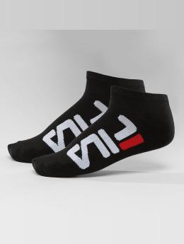 FILA Ponožky 2-Pack Invisible čern