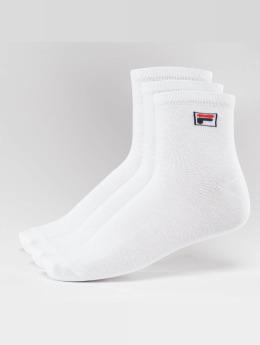 FILA Ponožky 3-Pack Street Socks bílý