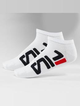 FILA Ponožky 2-Pack Invisible bílý