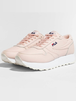 FILA Frauen Sneaker Heritage Orbit Zeppa Low in rosa