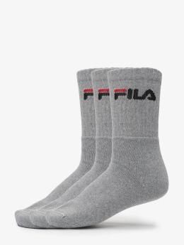 FILA Socken 3-Pack grau