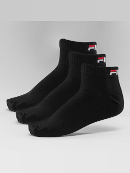 FILA Socken 3-Pack Training schwarz