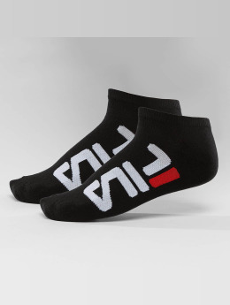 FILA Strumpor 2-Pack Invisible svart